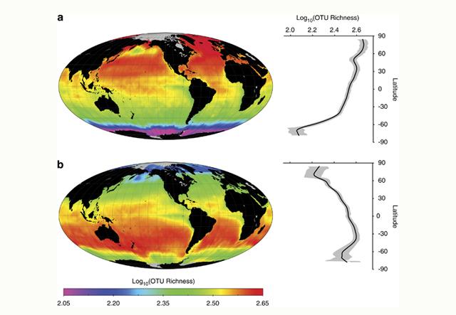 Bakterioen mundu mailako iragarpeneko mapa