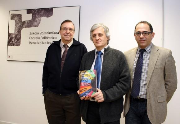 Jenaro Guisasola, José Ignacio Barragués eta Adolfo Morais