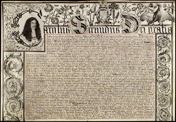 Erret Elkartearen lehen karta (1662)
