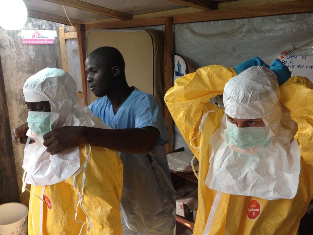 Ebola: ezohiko infekzioa, ohiko neurriak