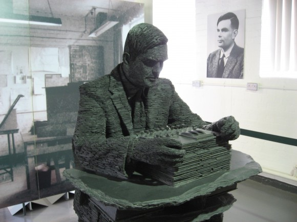 Alan Turingen eskultura ( Irudia: John Callas / CC BY 2.0)