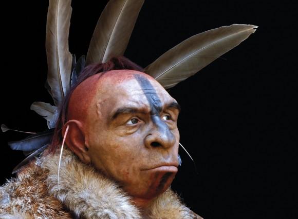 Neanderthal baten berraikitzea, Fabio Fogliazzak lumez apaindua.