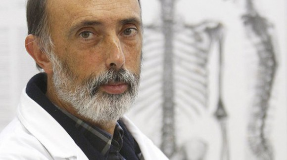1. Irudia: Paco Etxeberria auzitegi medikua. Argazkia: goiena.eus