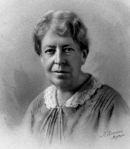 Mary Whiton Calkins (1863-1930). Estatu Batuetako Psikologia Elkarteko lehen emakume presidentea.