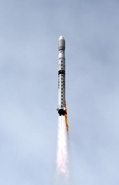 Lanzamiento del Yaogan-21a Larga Marcha 4B kohetean