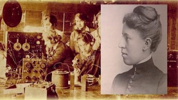 2. irudia: Wellesley Collegen psikologia esperimentaleko lehen laborategia jarri zuen martxan Mary Whiton Calkinsek 1891. urtean.