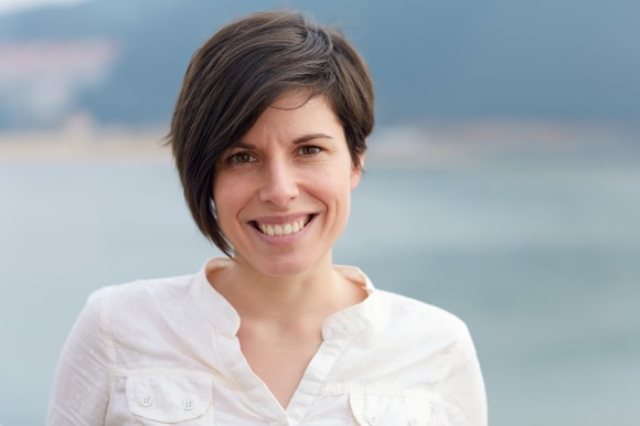 Naiara Rodriguez biologoa eta AZTI-Tecnaliako Ekologia Molekularra taldeko ikertzailea.