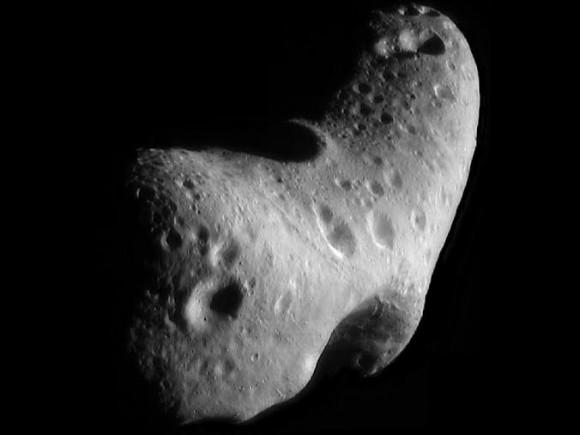 2. irudia: Eros asteroidea. (Argazkia: NASA)
