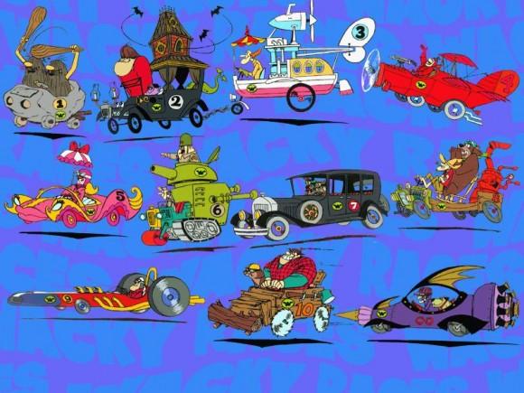 """1. irudia: """"Los Autos Locos"""" de Hanna-Barbera Productions"""