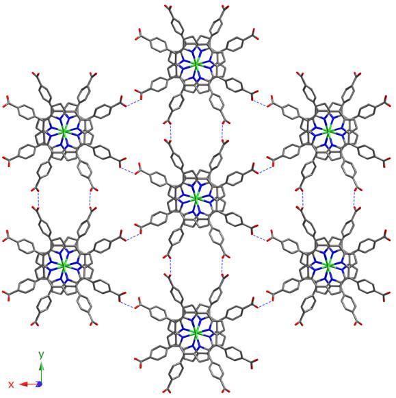 3. irudia: Burdina-porfirina katalizatzaile berri baten egitura kristalografikoa. Katalizatzaile hau UPV/EHUko EIDOS ikerketa-taldean garatu da, eta horretarako ikertzaileek hemoglobina bezalako sistema porfiriniko naturaletatik hartu dute inspirazioa. Horri esaten zaio biomimetismoa.