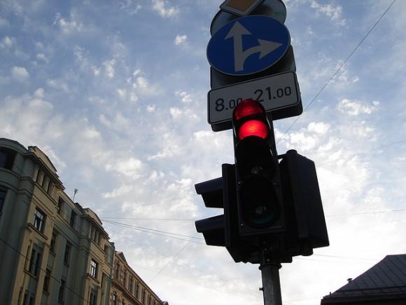 1. irudia: Elebidunen garunak semaforo baten moduan jokatzen du. (Argazkia: Toms Bauģis / CC BY 2.0)