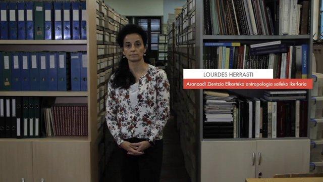 Zientzialari (18) – Lourdes Herrasti