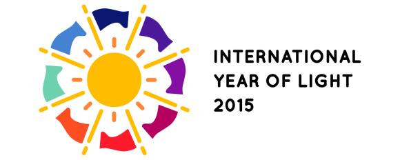 1. irudia: Argiaren Nazioarteko Urtearen logoa. (Argazkia: Unesco)