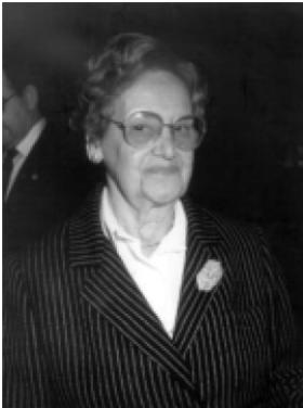 3. irudia: Luz Zalduegi 1995. urtean, Gipuzkoako Albaitarien Elkargoak egin zion omenaldian.