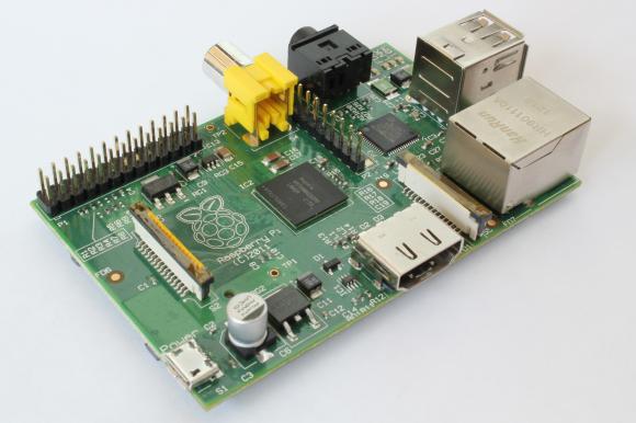 3. irudia: Raspberry Pi txartel bat.