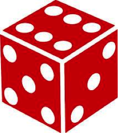 3. irudia: irudia. Zein saiotan dago informazio gehiago? (b) Dado bat airera botatzean (emaitza 1-6 arteko zenbaki bat da).