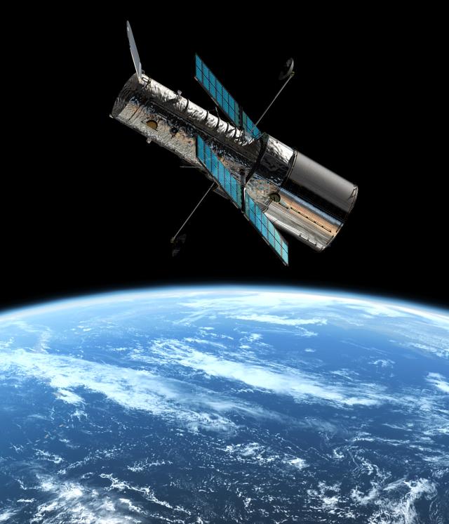 Hubble espazio-teleskopioa. (Argazkia: NASA)