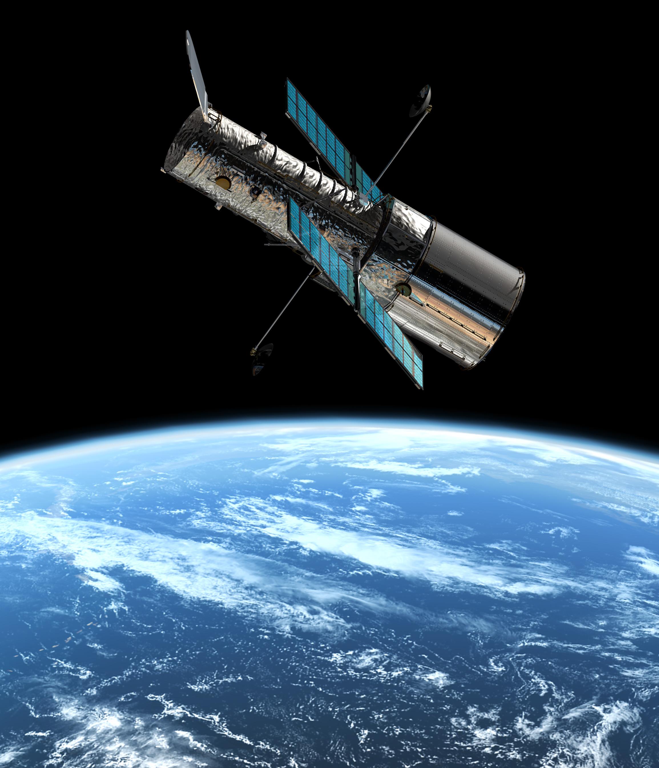 Hubble teleskopioa: 25 urte orbitan unibertsoa arakatzen