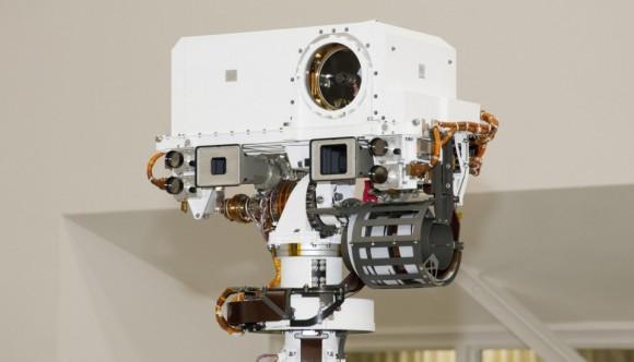 Curiosity robotak ikusteko gaitasuna du
