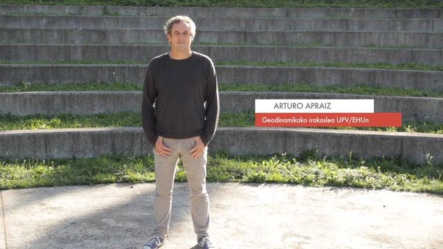 """Zientzialari (36) – Arturo Apraiz: """"Gaur egun oraindik ia ezinezkoa da lurrikara bat aurreikustea"""""""