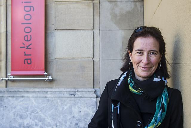 Irudia: Lydia Zapata arkeobotanikaria (Argazkia: Luis Jauregialtzo – Argazki Press)