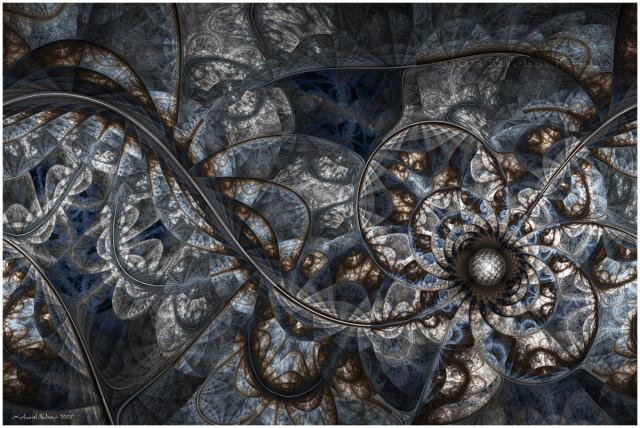 1. irudia: Space-Time Continuum, Michael Faber-en lana.