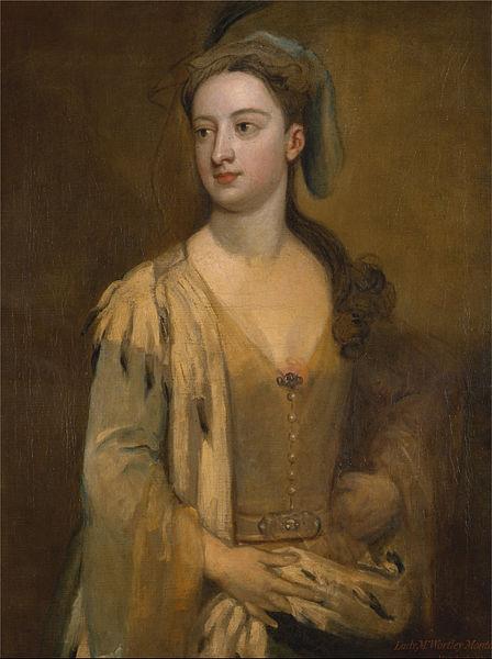 Irudia: Lady Mary Wortley Montagu. Sir Godfrey Kneller egindako erretratua 1715-1720 artean. (Argazkia: Wikipedia - Public domain) undefined