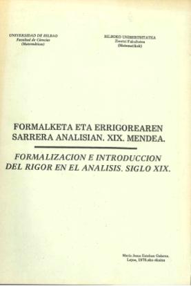 2. irudia: Maria Jesus Estebanen tesina, matematikan euskaraz idatzi zen lehena.