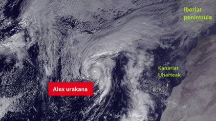 1. irudia: Estatu Batuetako NOAA-k (National Oceanic and Atmospheric Administration) eskainitako irudiak.