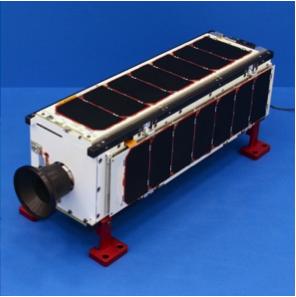 3. irudia: jada orbitan dagoen Arkyd3 teleskopioa. (Argazkia: Planetary Resources)