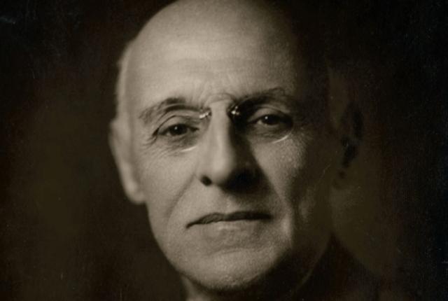 Irudia: Abraham Flexner 1929. urtean.