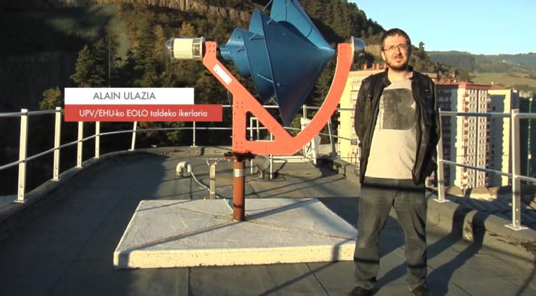 """Alain Ulazia: """"Energia eolikoa energia iturri lehiakortzat hartzen da gaur egun"""" #Zientzialari (60)"""