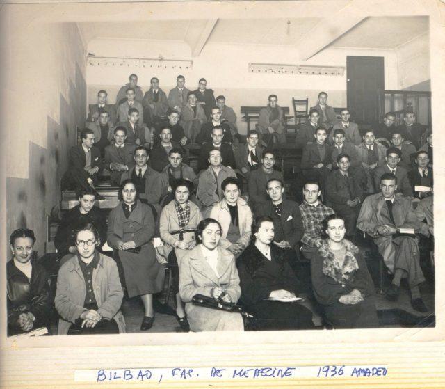 1937-alumnos-facultad-medicina-bilbao
