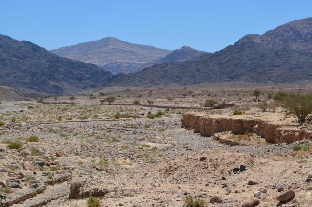1. irudia: Wadi Faynan lurraldea, Jordanian) (Sinadura: Barqa Landscape Project / University of Waterloo)