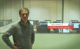 """Zientzialari (65) Kepa Sarasola - """"Hizkuntzalaritza konputazionalarekin lengoaiak errezago erabiltzeko tresnak garatzen ditugu"""""""