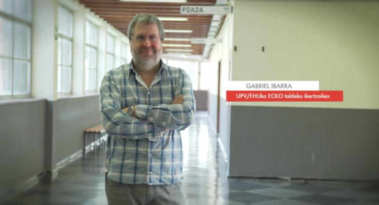"""Gabriel Ibarra: """"Olatu-energia garatzeko beharrezkoa da haien indarra aurreikustea"""" #Zientzialari (68)"""