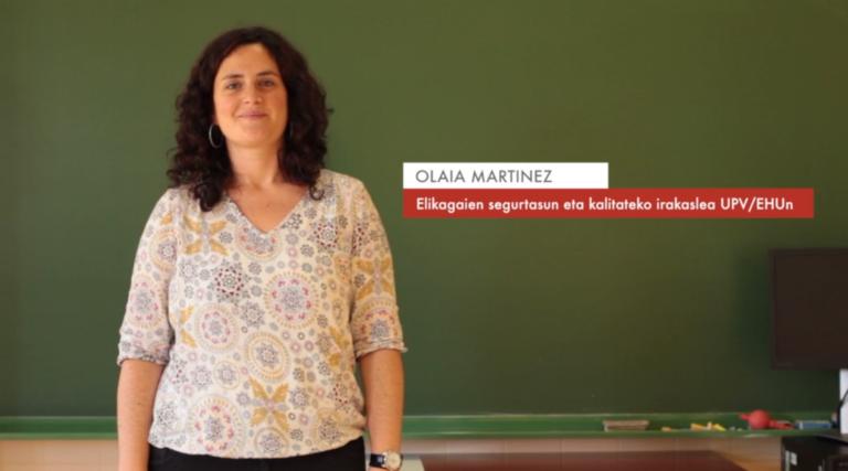 """Olaia Martinez: """"Elikagaien segurtasun alerten %40a etxeko praktika desegokiak dira"""" #Zientzialari (74)"""