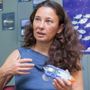 Natacha Aguilar: Planeta orekan egon dadin, itsasoa orekatu behar dugu