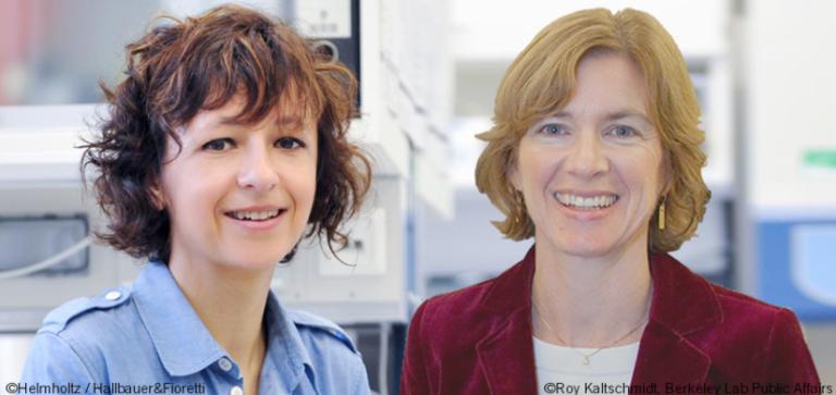 Jennifer Doudna eta Emmanuel Charpentier: DNA editatzeko guraizeen sortzaileak