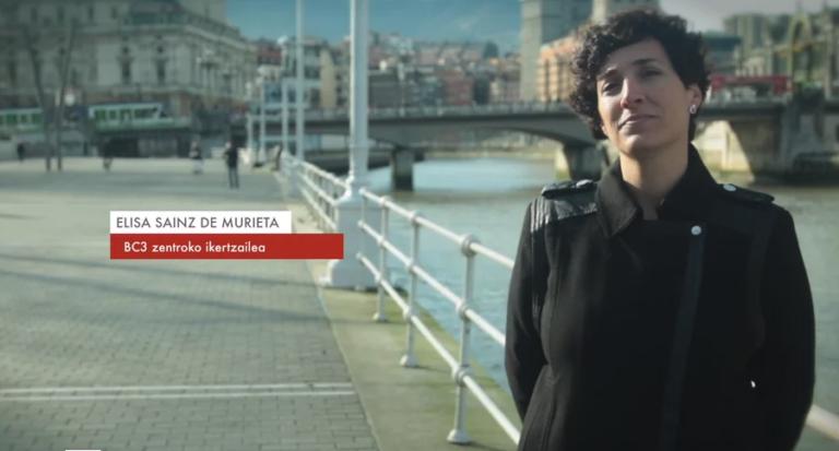 """Elisa Sainz de Murieta: """"Klima-aldaketa Euskal Herri osoari dagokion erronka da"""" #Zientzialari (86)"""
