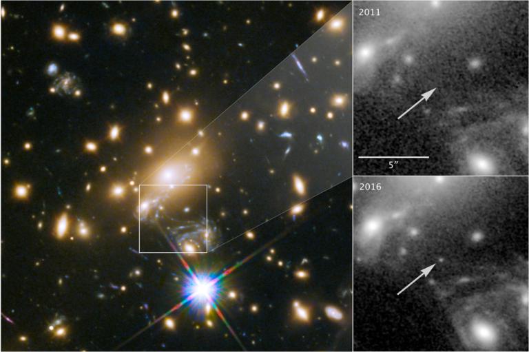 Inoiz ikusi den izarrik urrunena aurkitu du Hubble teleskopioak