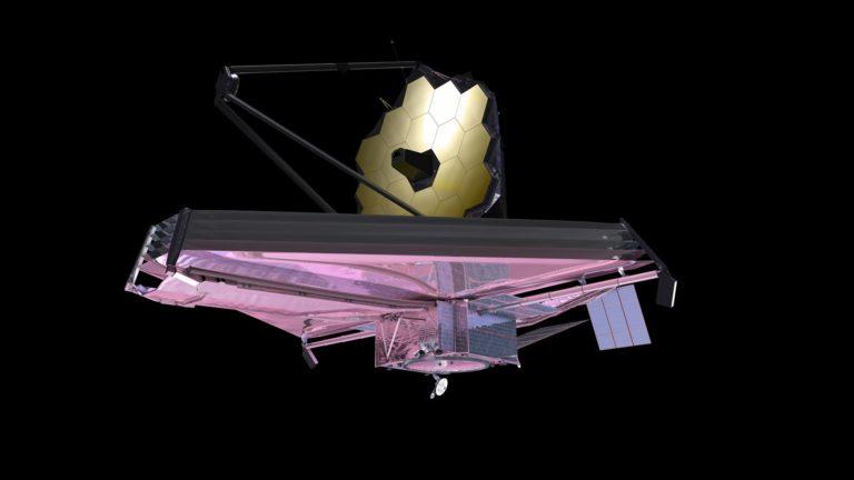 Hubbleren ondorengoa: James Webb izeneko espazio-teleskopioa