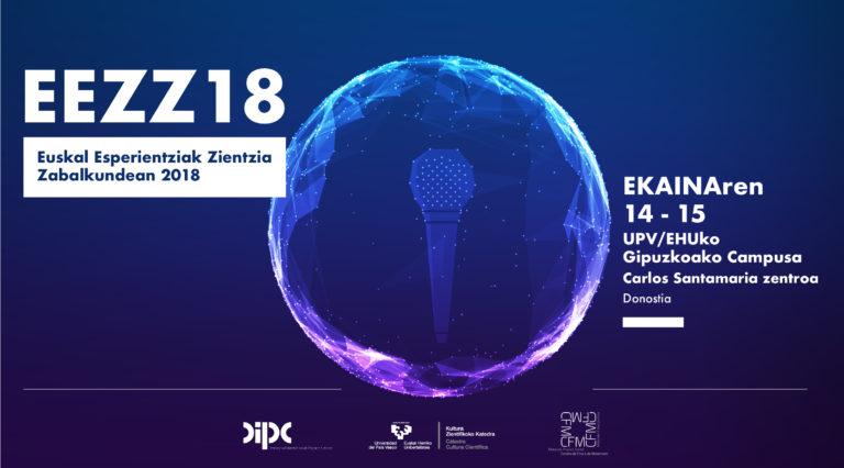 EEZZ18, Euskadiko zientzia dibulgatzaile eta komunikatzaileentzako topagunea