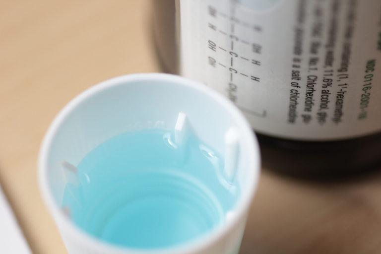 Klorhexidinak eraginkortasun mugatua du aho interbentzioetan infekzioak saihesteko