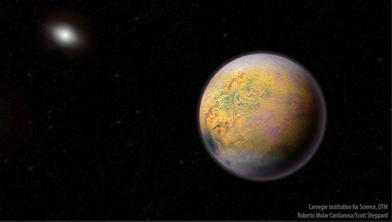 Auzokide berria du Eguzki-sistemak, eta planeta erraldoi baten adierazle izan liteke