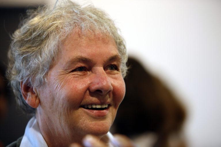 Christiane Nüsslein-Volhard eta bizitzaren lehenengo harria