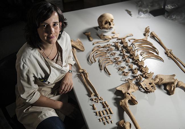 Arkeologia biomolekularra bisigodoen dieta ikertzeko