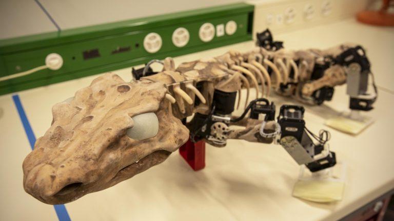 Dinosauroak baino lehenagoko animalia 'berpiztu' dute, robotikaren bidez