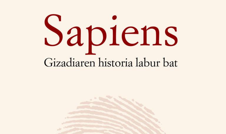 Sapiens. Gizadiaren historia labur bat