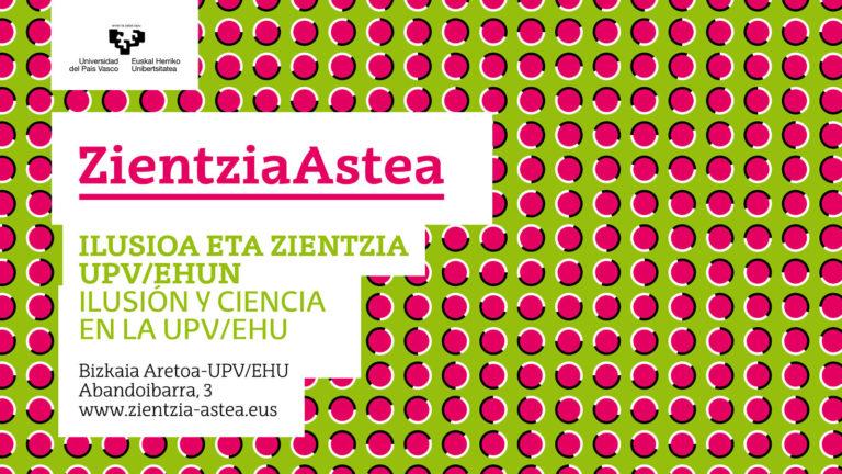"""""""Ilusioa eta Zientzia"""" hitzaldi-sorta"""